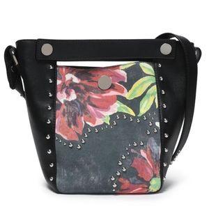 3.1 Phillip Lim Studded Paneled Floral Bag